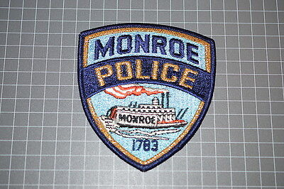 Monroe Louisiana Police Department Patch (T3)