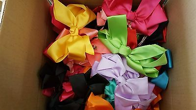 Wholesale 180 pcs  Big Hair Bows Boutique Girls hair Clip