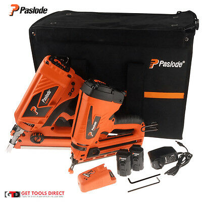 Paslode Pair FrameMaster PowerVent Gas Frame Nail Gun And TrimMaster S20503
