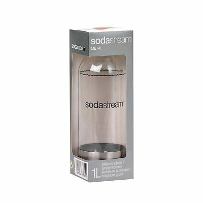 SodaStream 1-Litre Source Carbonating Bottle Stainless Steel Single