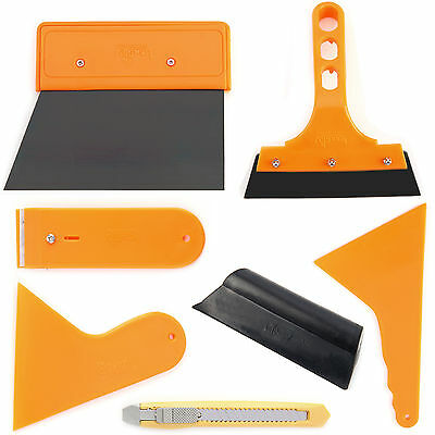 Car Window Tint Tools Kit Film Tinting Scraper Application Installation Durable