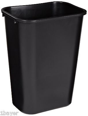 Rubbermaid Commercial Soft Molded Plastic 10.25-Gallon Trash Can Rectangular