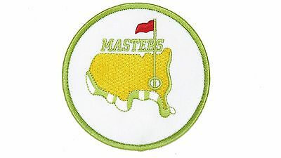 Augusta Golf Masters Green/gold Patch High Quality Iron/sew On Free Shipping ~
