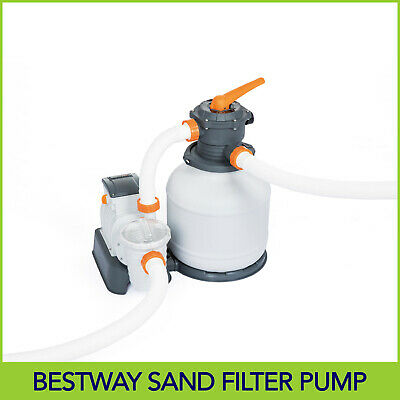 2000 gph Bestway Flowclear Sand Filter Pump 58366 For Above Ground Pools