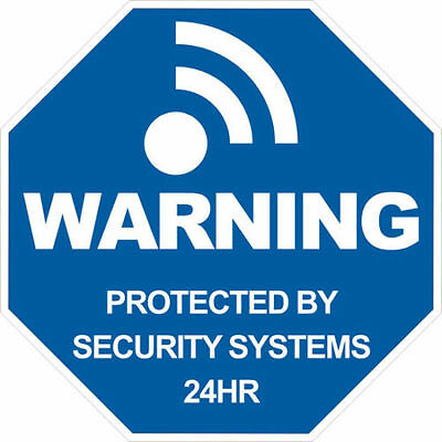 Alarm Decal Warning Sticker for Home Security Burglar Alarm System AFAMTZ001X10