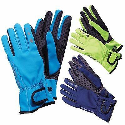 Harry Hall Unisex Riding Cycling Winter Protective Waterproof Softshell Gloves