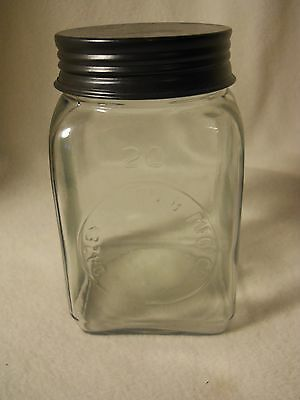 Dazey Churn Jar and Lid-NO PADDLE-Labeled-Great Condition