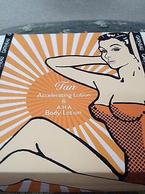 NEW Gatineau Tan Accelerator & AHA Body lotion 400ml Duo boxed