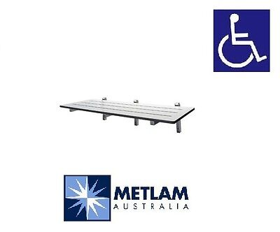 Metlam Folding shower seat ML991CL; compliant with AS1428.1