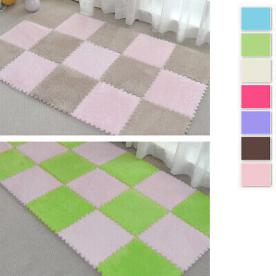 New Baby Crawling Puzzle Mat Soft Kids Play Activety Carpet Home Floor Blanket