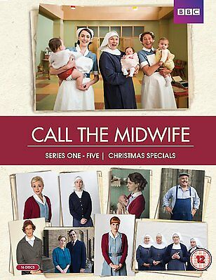 Call the Midwife - Series 1-5 Dvd Box Set New/Sealed