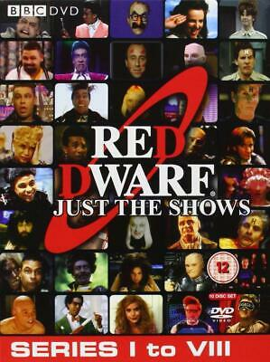 Red Dwarf: Just The Shows - Complete Series 1-8 Dvd Box Set New