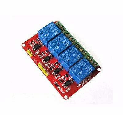 DC 5V 4 Channel Relay Module Board Switch With Optocoupler Isolation for Arduino