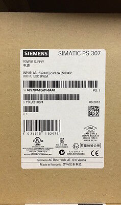 6Es7307-1Ea01-0Aa0 6Es7 307-1Ea01-0Aa0 Simatic S7-300 Stabilized Power Supply