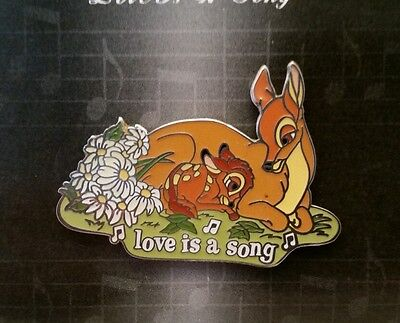 NEW Disney Pin Magical Musical Moments Love is a Song Baby Bambi with Mother