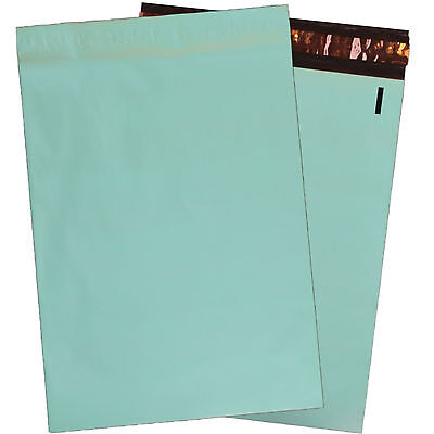 """10"""" x 13"""" Exclusive Teal FLAT POLY MAILERS Approved Shipping Mailers"""