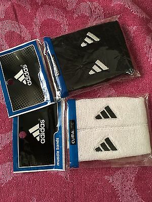 Adidas Interval 1-inch Muscle Band, Black/White One Size Fits All #5134740 Read