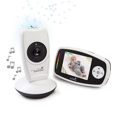 Summer Infant Baby Glow Video Monitor and Projection Camera 29353