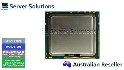 507794-B21 - Intel Xeon E5540 (2.53Ghz/4-Core/8Mb/80W) Processor (490071-001)