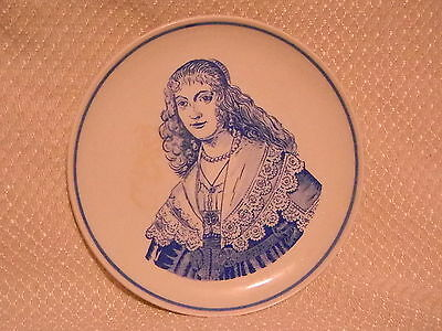 Delfts Blauw Royal G Handpainted  Holland Wall Plate 1241/om