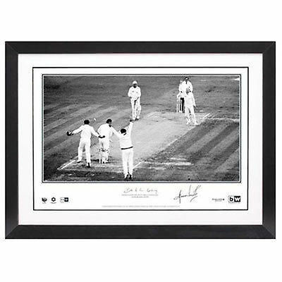 Shane Warne Personally Signed 'Ball of the Century', Framed - SUPER SPECIAL!