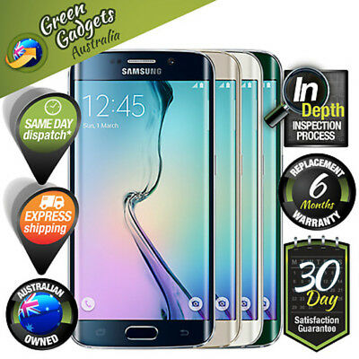 Samsung Galaxy S6 Edge G925i 32 64 128 GB Black/White/Gold/Green Unlocked