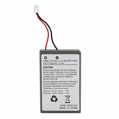 PS4 2000mAh 4.2V Battery Replacement for Sony PS4 DualShock 4 Controller