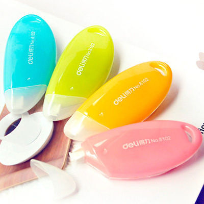 Colorful Roller White Out School Office Study Stationery Correction Tape Tool