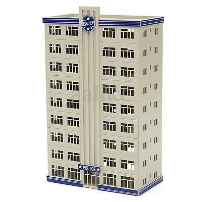 N Scale Outland Models Railway Police Department Headquarter / Station Building