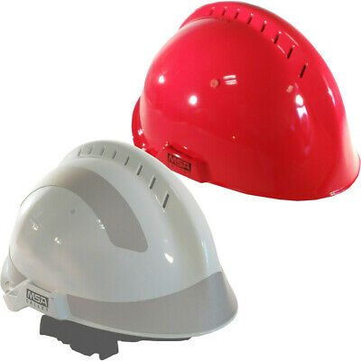 MSA F2 X-TREM Unisex Firefighter Helmet Rescue Climbing Forestry Hard Hat Safety