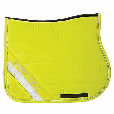 Harry Hall Equine Hi Viz General Purpose Quilted Reflective Horse Saddlecloth