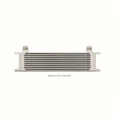 Mishimoto 10-Row Oil Cooler - Silver (MMOC-10)