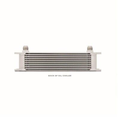 Mishimoto Universal 10-Row Oil Cooler - Silver (MMOC-10)