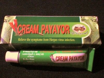 CREAM PAYAYOR Relieve Symptoms from Herpes Viral Infection/Apthous UlcerColdsore