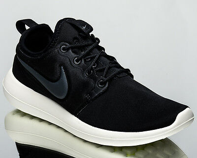 92e10b1bf24 Nike WMNS Roshe Two 2 women lifestyle sneakers NEW black sail 844931-002