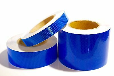 High Intensity Dark Blue Reflective Tape Various sizes 0.5M Lengths
