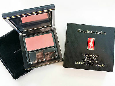fard blush ELIZABETH ARDEN color intrigue ombre a joues PINK GLOW CHEEKCOLOR NEW