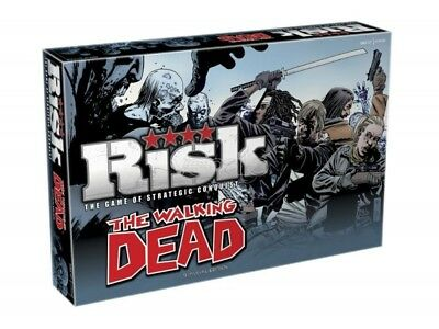 The Walking Dead Board Game Risk *English Version* Winning Moves