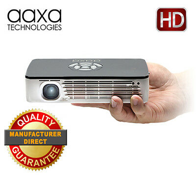 AAXA P700 HD LED Pico Projector, 650 Lumens, Battery Powered, Media Player (NEW)