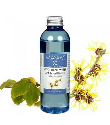 100% Pure Organic Witch Hazel Water Floral Hydrosol Natural Plant Therapy Flower