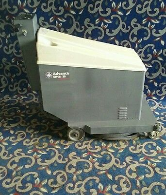 "Advance 20"" battery powered floor buffer (no batteries) with FREE shipping!"