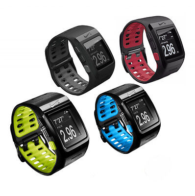 Nike + SportWatch GPS Powered by TomTom Fitness Running Tracking Sport Watch