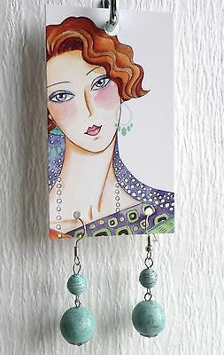 Boutique Earrings Display Holder/hang Tags Fine/fashion Jewelry 60 Pretty Girl