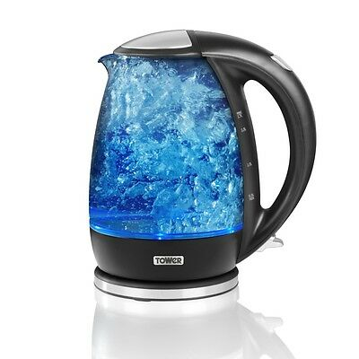 Tower Glass Kettle 1.7L