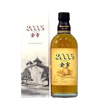 Nikka Yoichi 2000's Japanese Single Malt Whisky 500ml