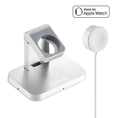 [ Apple MFi Certified ] Apple Watch Charger Poweradd Magnetic Charging Dock a...