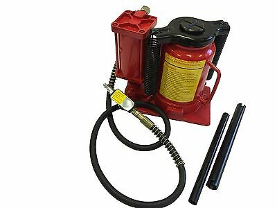 20 Ton Air Manual Power Over Hydraulic Portable Low Profile Bottle Jack Lift
