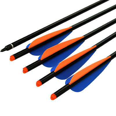 """16"""" New Archery Aluminum Arrow for Crossbow Bolts Target Hunting Outdoor 12 pk"""