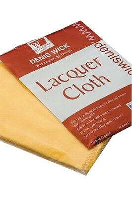 Denis Wick Lacquer Cleaning Cloth- Suitable for brass trumpets, cornets ,etc