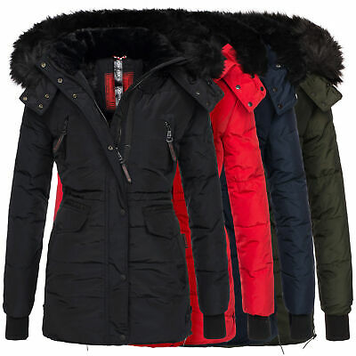 Fell Winter Jacke Parka Mantel Teddy Navahoo Sesa Damen UpqSzMV